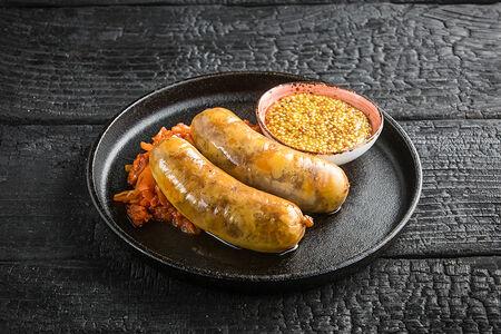 Колбаски из свинины с сыром