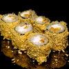 Фото к позиции меню Ролл с омлетом и сливочным сыром в темпуре