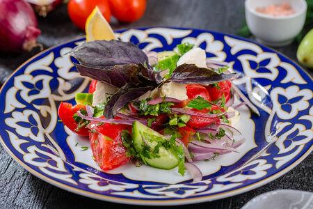 Чобан-салат из бакинских овощей