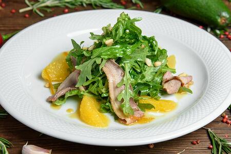 Салат с филе утки и апельсином