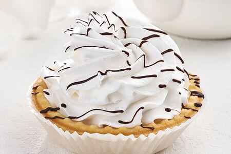 Пирожное Корзиночка с кремом