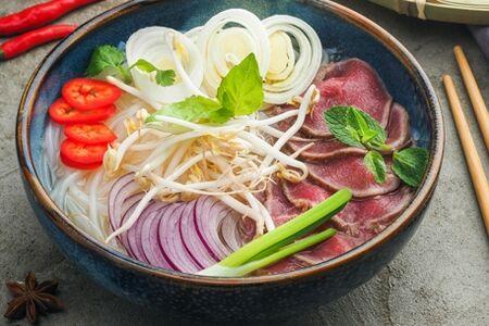 Фо Бо (Традиционный Въетнамский суп)