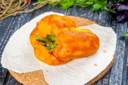 Болгарский перец на углях