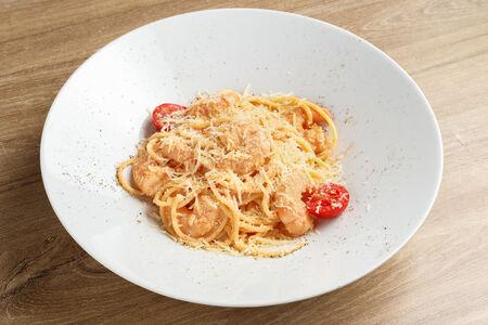 Спагетти Гамберони