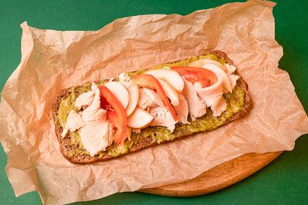 Бутерброд с индейкой