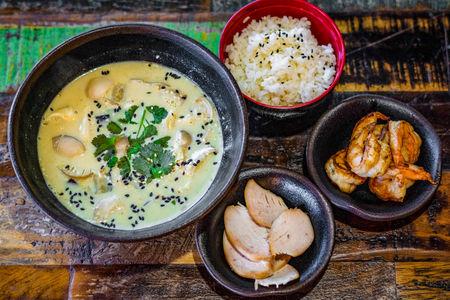 Суп Желтый или зеленый карри