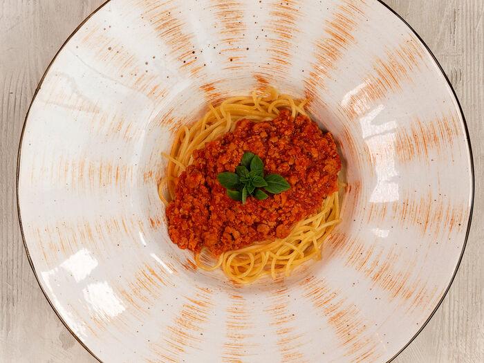 Спагетти в соусе Болоньезе