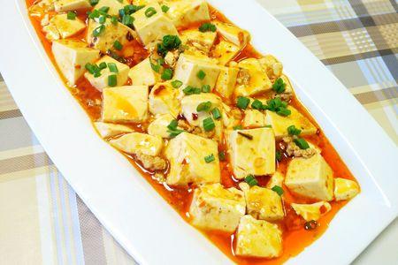 Тофу со специями Мапо