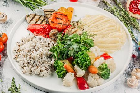 Сезонные овощи на гриле
