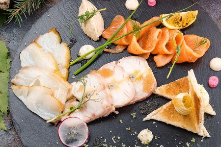 Разности из сибирских и дальневосточных рыб