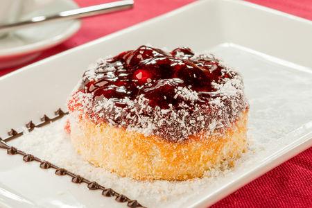 Творожно-кокосовый десерт