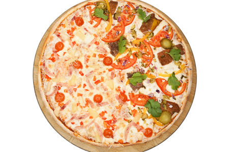 Пицца Он и Она