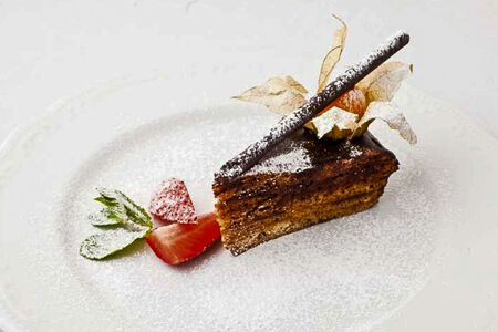 Торт Домашний медово-банановый