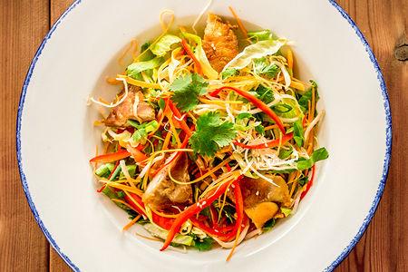 Китайский салат с цыпленком
