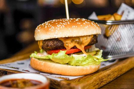 Бургер Гриль с говяжьим бифштексом