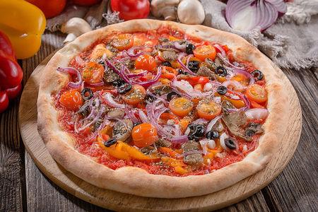 Веган-пицца