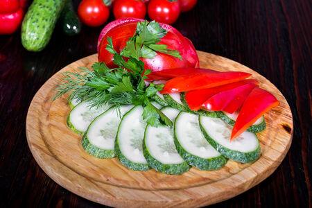 Плато овощное