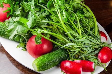 Микс из кавказских овощей