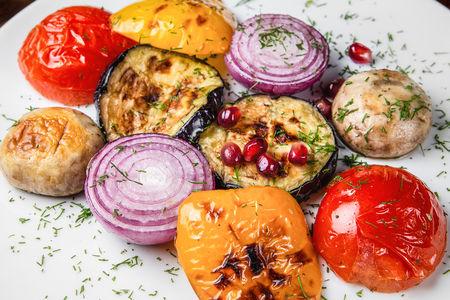 Гарнир Овощи на мангале