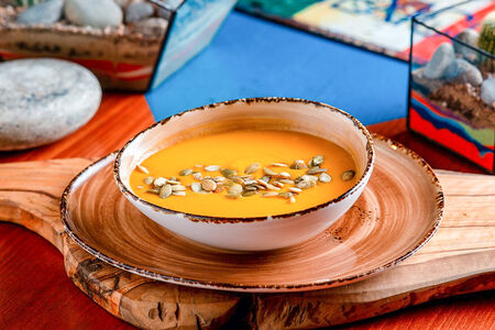 Суп Тыквенно-чечевичный