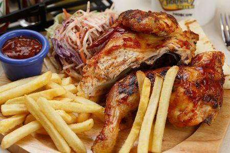 Цыпленок на гриле (половинка)