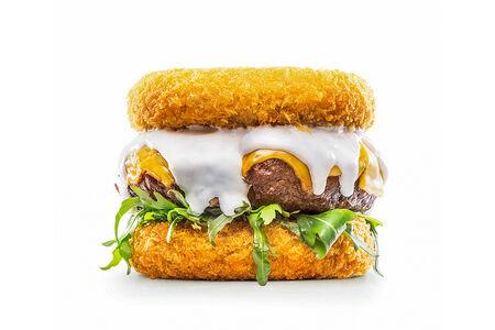 Сырный бургер