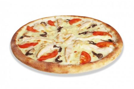 Пицца Кура и грибы