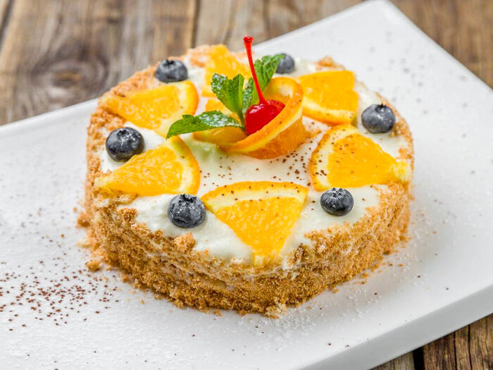 Торт Апельсиновый