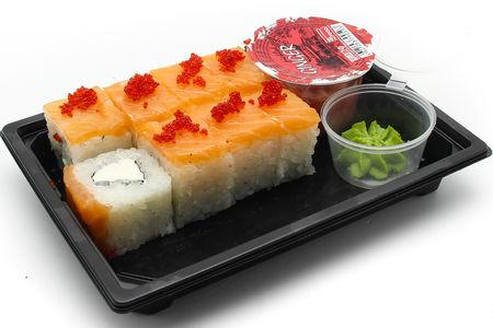 Ролл с лососем и сыром XXL