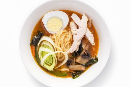 Суп Рамён с курицей