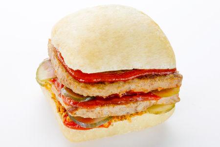 Двойной бифбургер