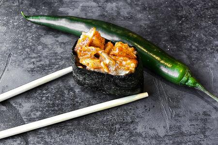 Спайс суши с угрём