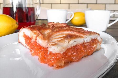 Пирог с морковью и лимоном