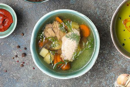 Суп Бульон по-сухумски