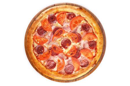 Пицца Pizza на пышном тесте