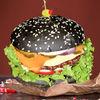 Фото к позиции меню Бургер Сыр и Мясо