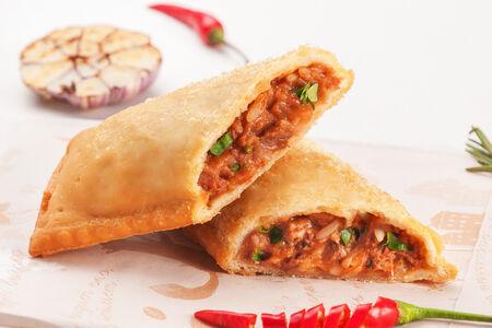 Пирог Харчо с говядиной