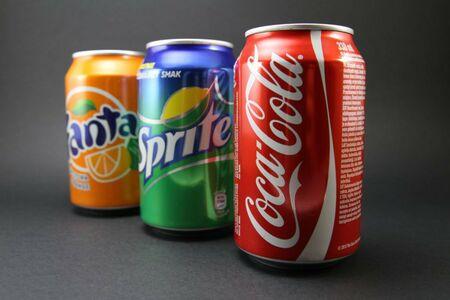 Coca-Cola, Cola Zero, Cola Vanilla, Fanta, Sprite