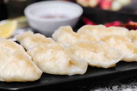 Пельмени Китайские с курицей и фунчозой