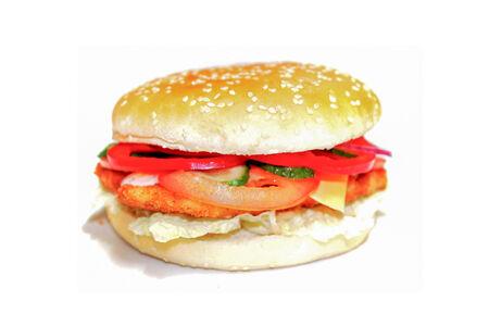 Чикенбургер Макси