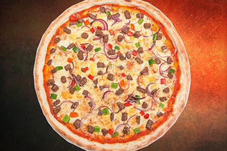 Пицца Барбекю с мясом