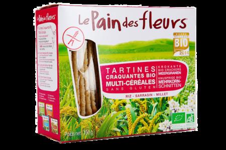 Хлебцы без глютена мультизлаковые, Pain des fleurs