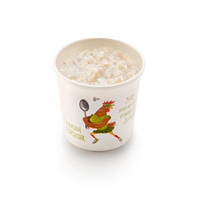Каша овсяная на миндально-кокосовом молоке