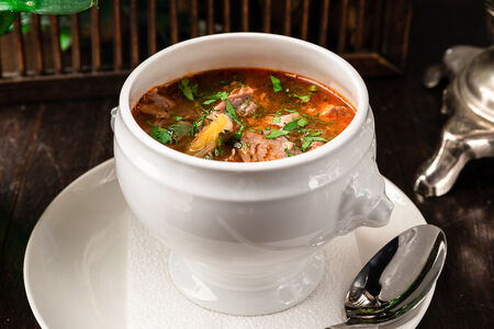 Суп Щи кислые с уткой