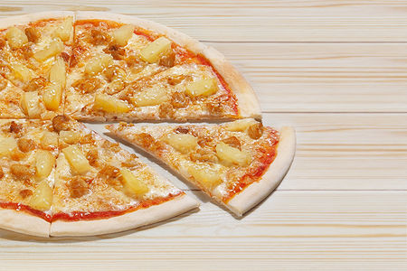 Итальянская пицца Гавайи