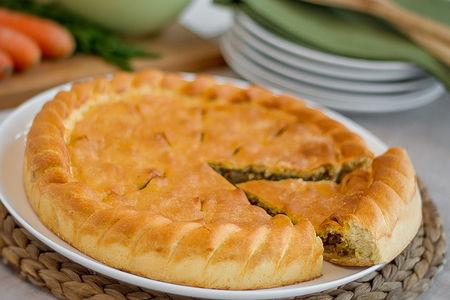 Пирог вегетарианский Монастырский