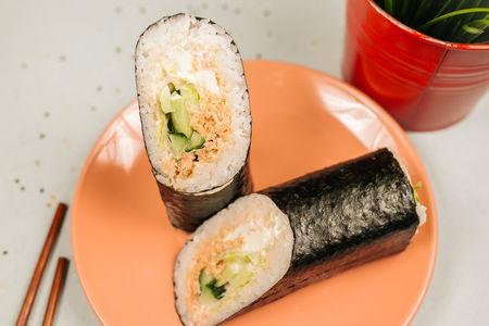 Ролл Суширрито с лососем