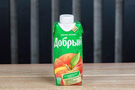 Сок Добрый яблоко-персик