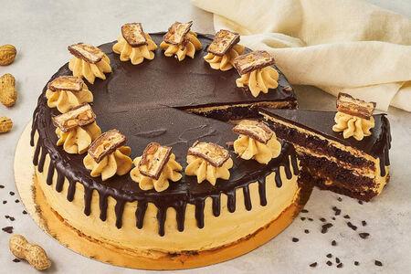 Торт Сникерс круг