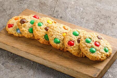 Печенье овсяное M&M's